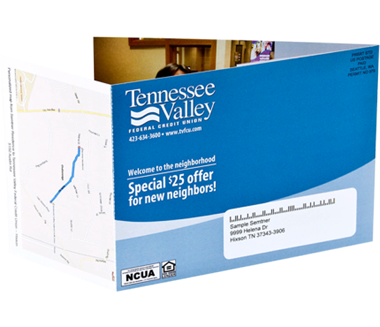 Self Mailer Direct Mail with Personalized Maps, Customize Mailers ...